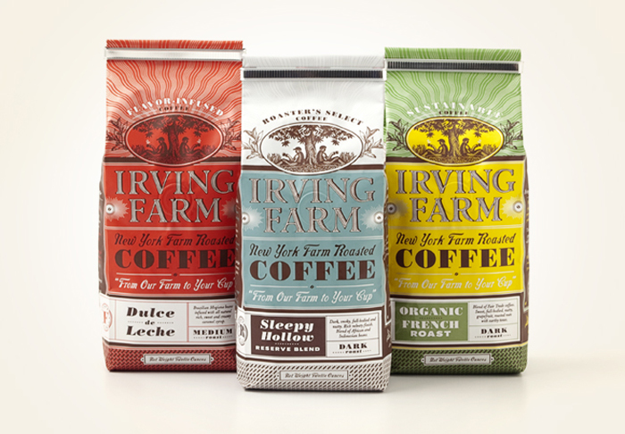 Irving Farm coffee bags 1