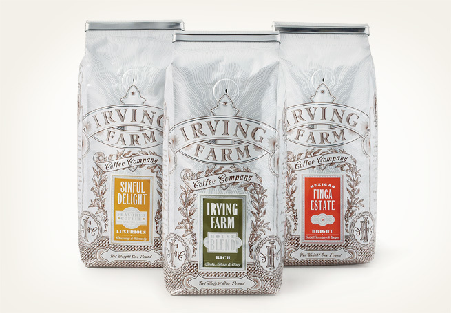 Irving Farm coffee bags 2