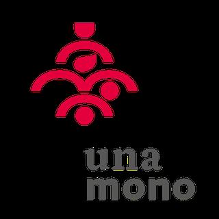 unamomo logo and label 1