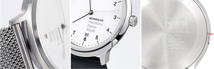 Mondaine Helvetica watch series 3