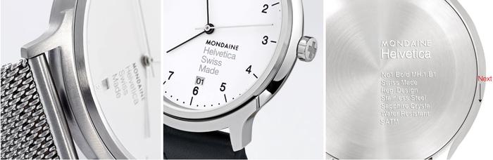 Mondaine Helvetica watch series 3