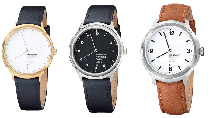 Mondaine Helvetica watch series 5
