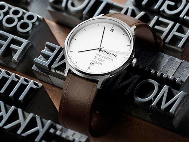 Mondaine Helvetica watch series 6