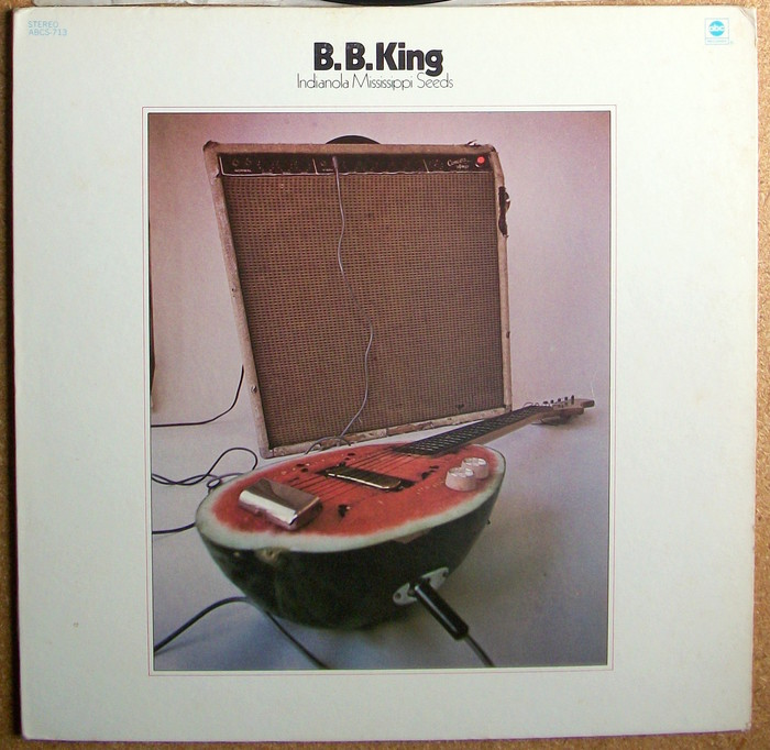 B.B. King – Indianola Mississippi Seeds album cover 1