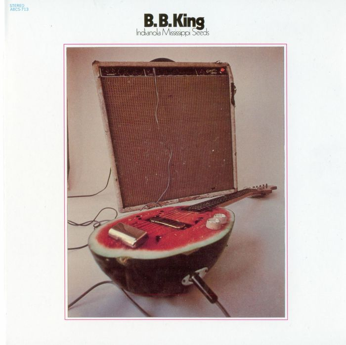 B.B. King – Indianola Mississippi Seeds album cover 4