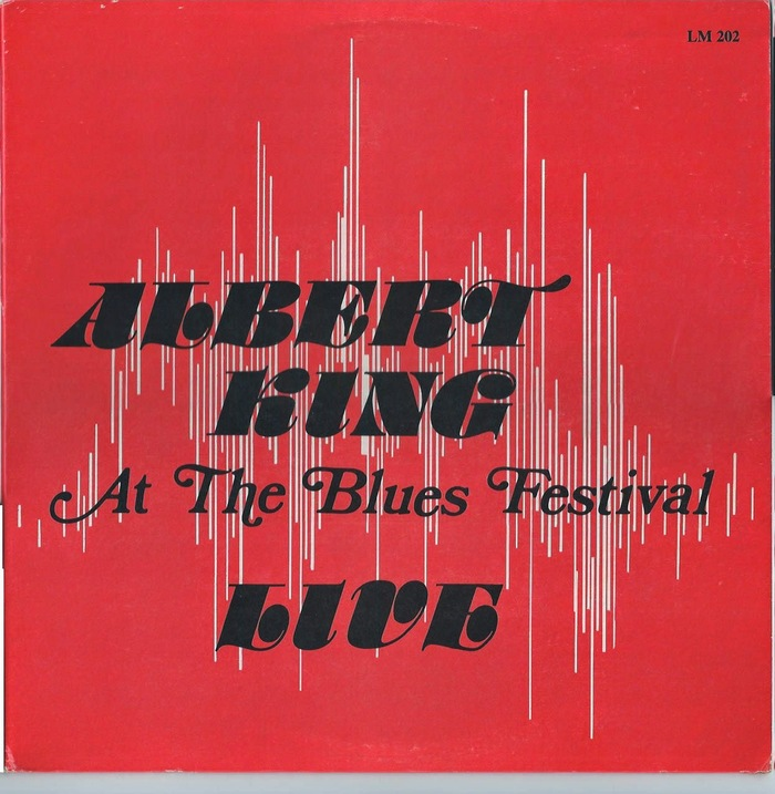 Albert King – Live At The Blues Festival album cover