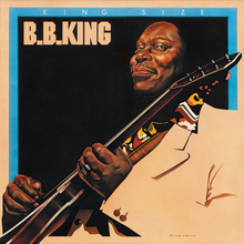 B.B. King – <cite>King Size</cite> album art