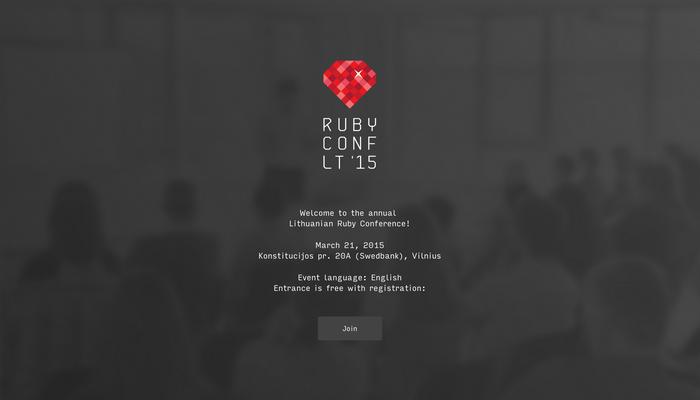 Ruby Conf LT '15 1