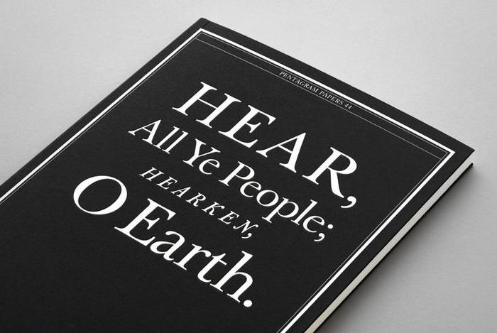 Pentagram Papers 44: Hear, All Ye People; Hearken, O Earth! 1