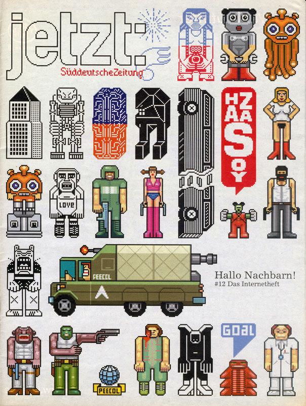 jetzt: magazine cover, issue 12