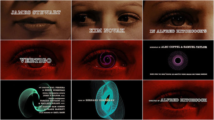 Vertigo opening titles 1