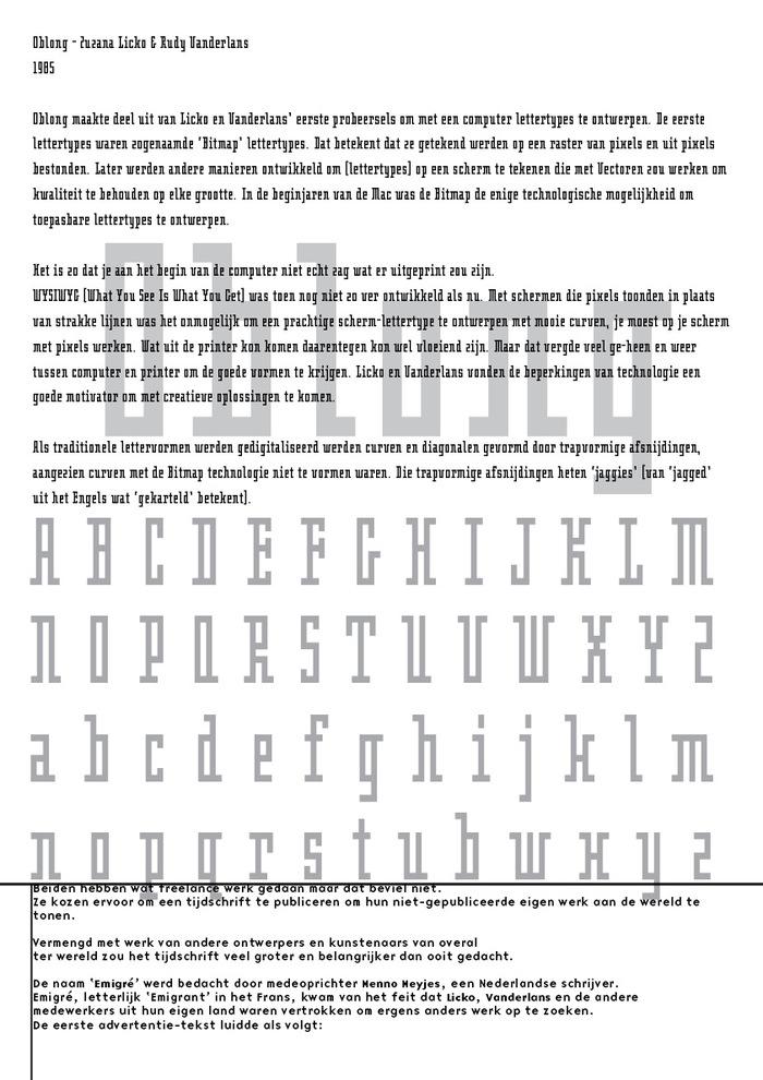 Zuzana Licko pamphlet 4