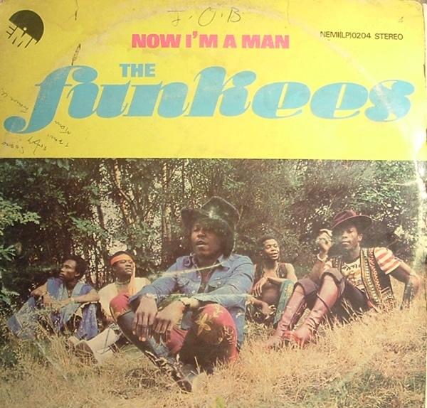 The Funkees – Now I'm a Man album art 1