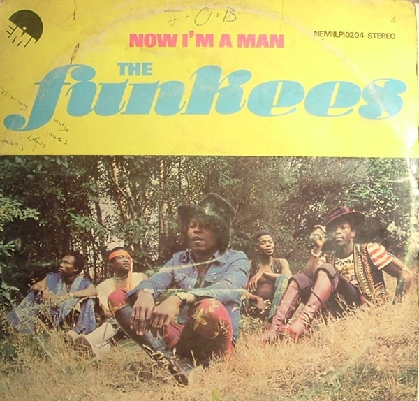 The Funkees – Now I'm a Man album art 1