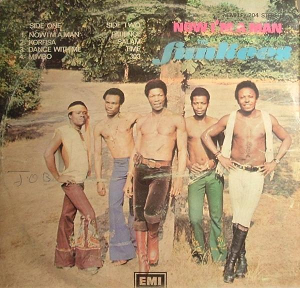The Funkees – Now I'm a Man album art 2