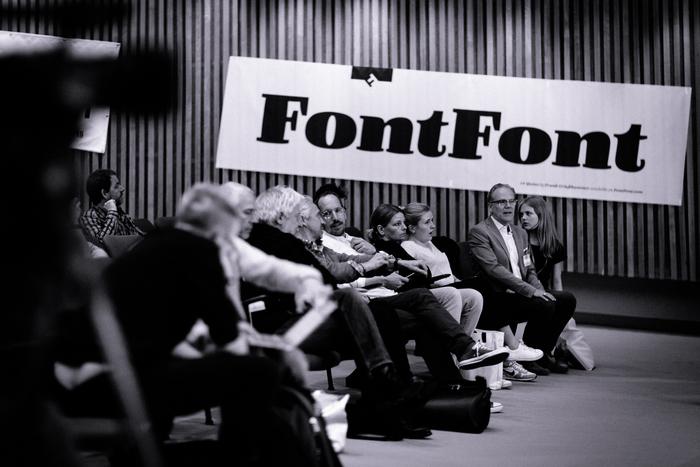 FontFont banner at TYPO Berlin