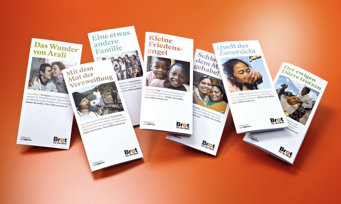 Various leaflets