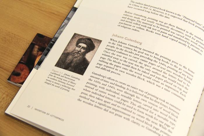 History of letterpress: When Type Kisses Paper 1