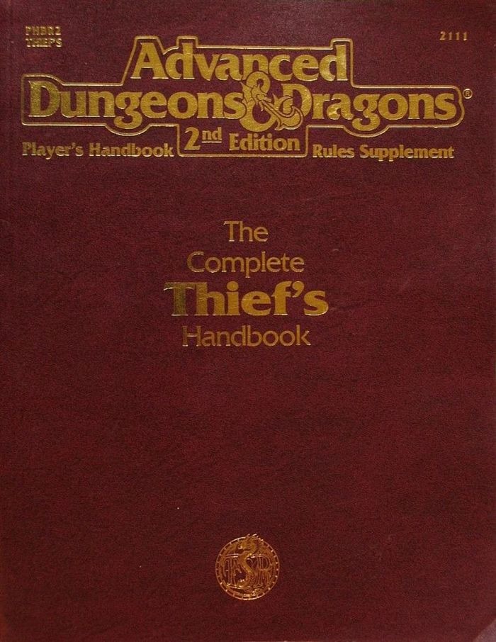 The Complete Thief's Handbook, 2nd Edition