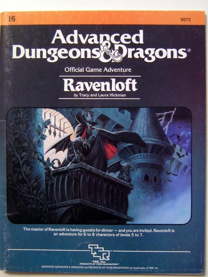 I-6 Ravenloft game module, published in 1983.