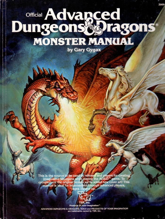 Monster Manual, 1978 edition.