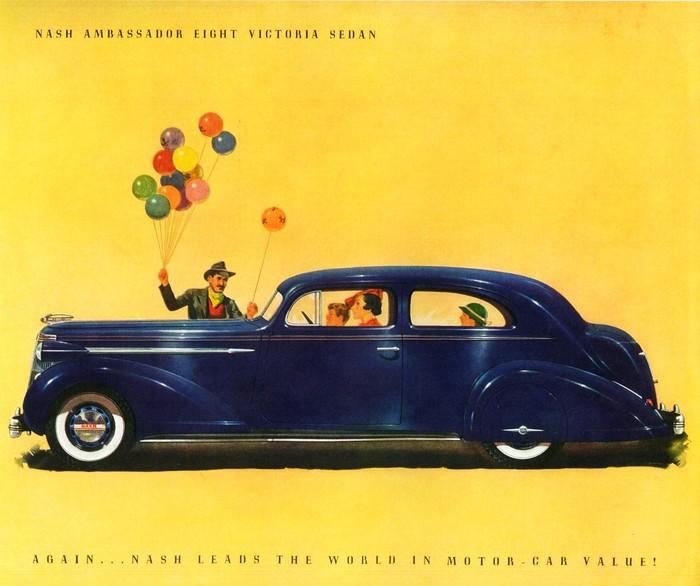 1937 Nash brochure 1