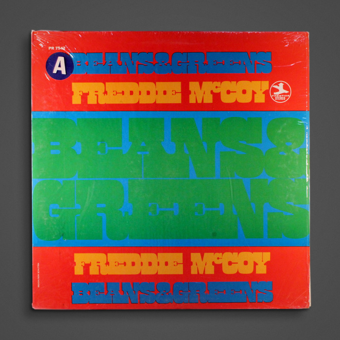 Freddie McCoy – Beans & Greens album art