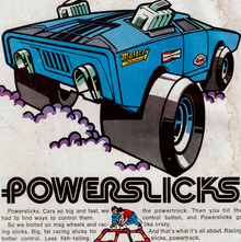 Aurora Powerslicks ads