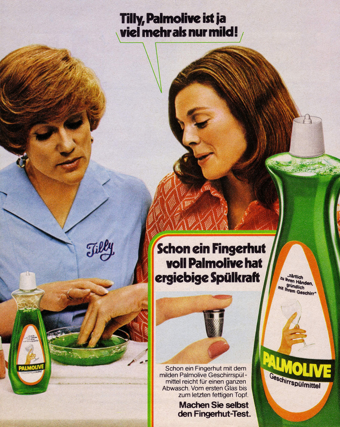 "Palmolive 1970s ads: ""It's got fingers…"" 2"