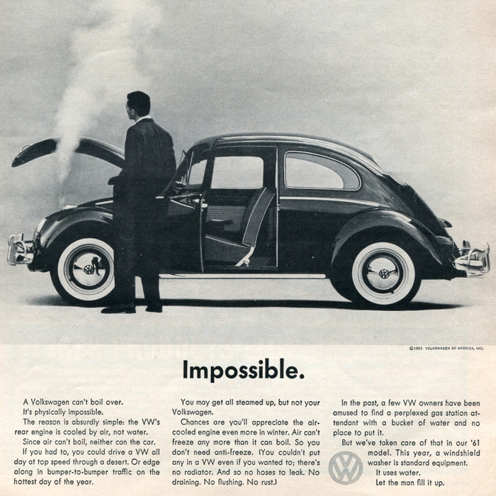 """""""Impossible."""" Car and Driver, Aug 1961"""
