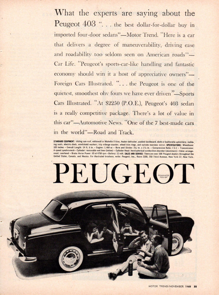 Motor Trend, Nov 1960