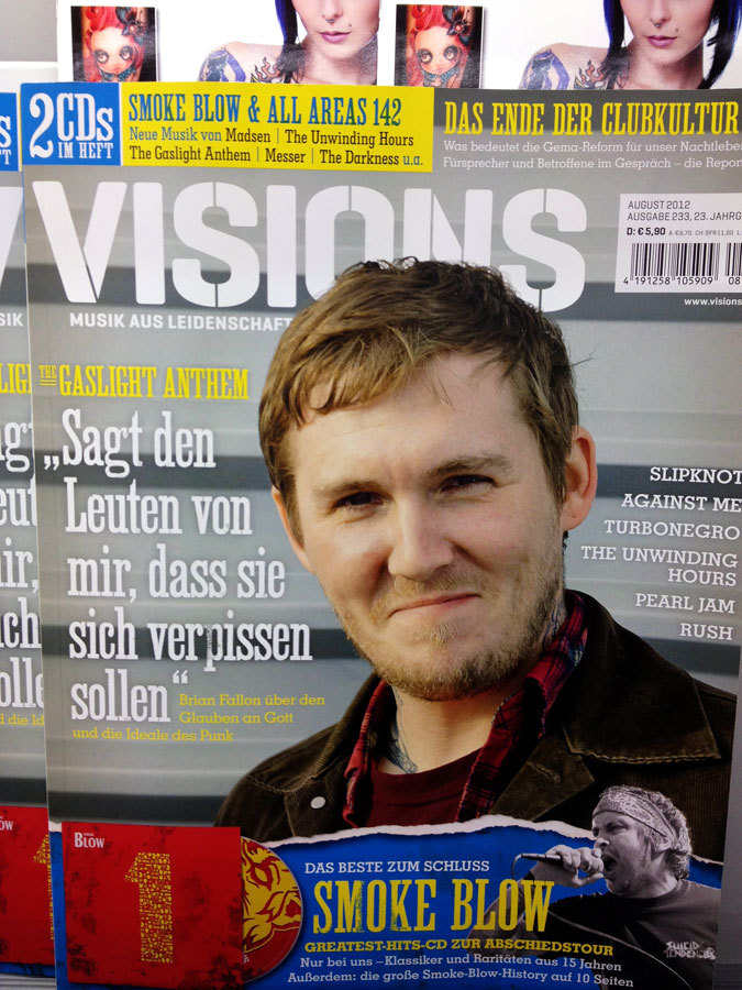 Visions magazine, issues 8/2012 and 4/2013 1
