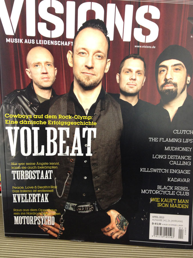 Visions magazine, issues 8/2012 and 4/2013 2