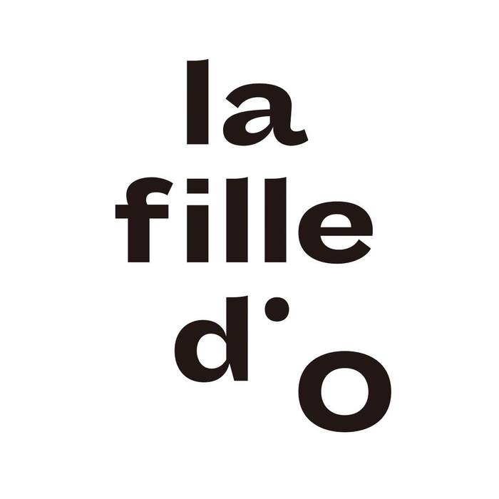 La Fille d'O identity and website (2015) 1