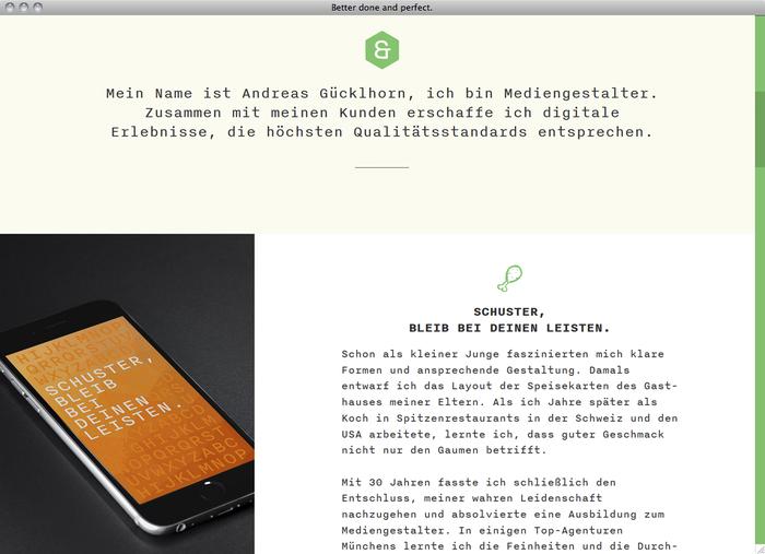 Andreas Gücklhorn website 2
