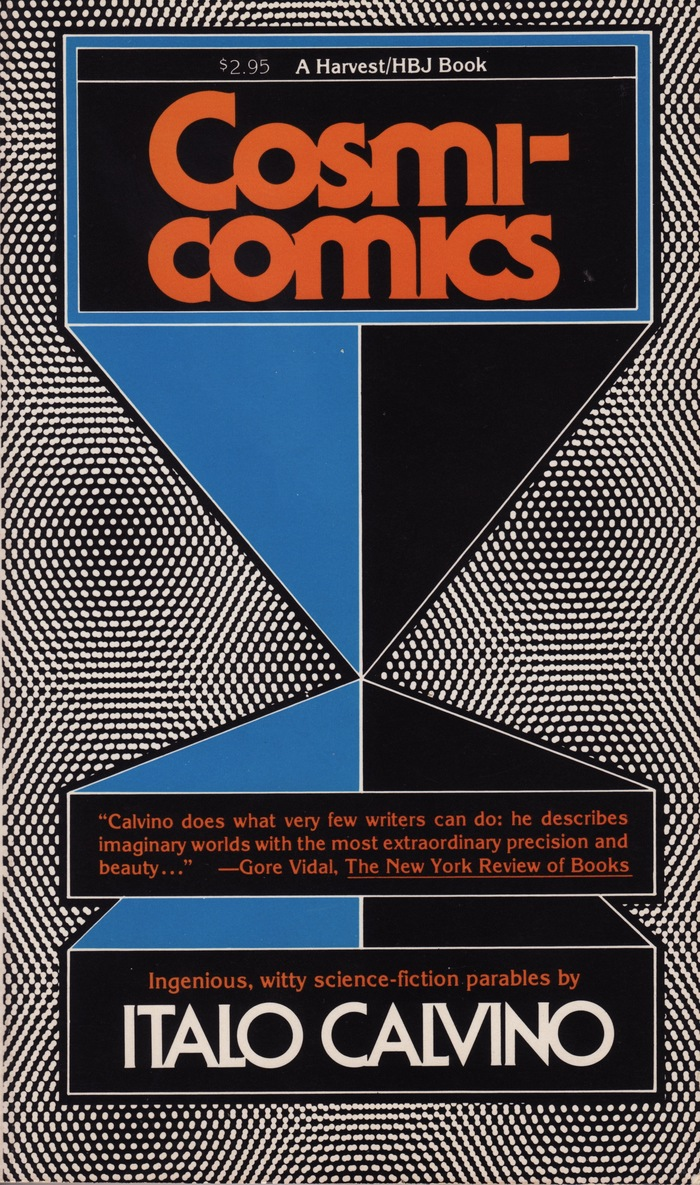 Cosmicomics by Italo Calvino, Harvest/HBJ Books 1