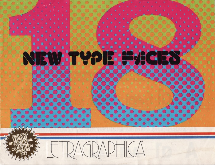 18 New Type Faces – Letraset Letragraphica 1