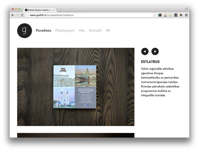 Graftik website 3