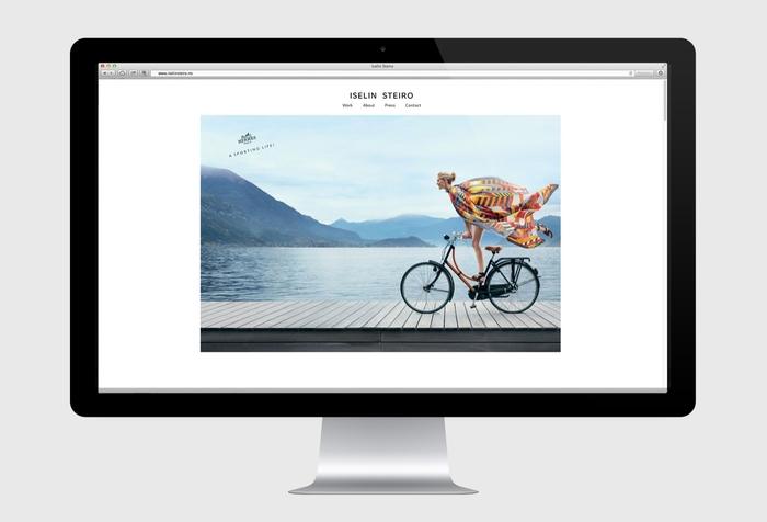 Iselin Steiro website 4