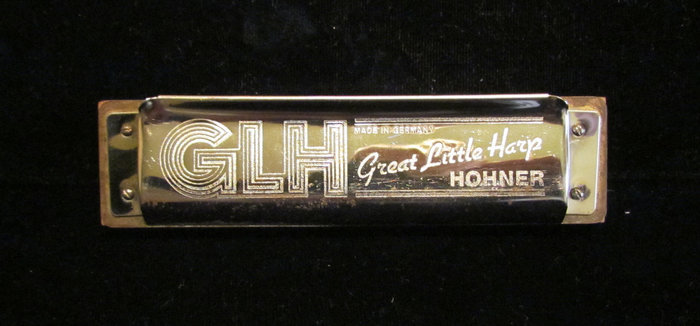 Hohner Great Little Harp harmonica and box 2