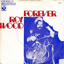 "Roy<span class=""nbsp"">&nbsp;</span>Wood – ""Forever"" German single cover"