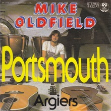 "Mike Oldfield – ""Portsmouth"" / ""Argiers"" German single cover"