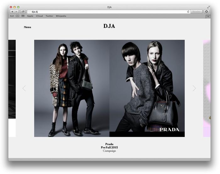 DJA website 1
