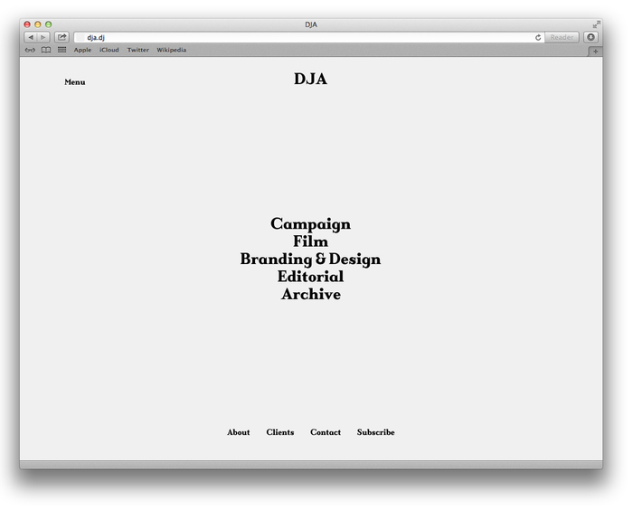 DJA website 2