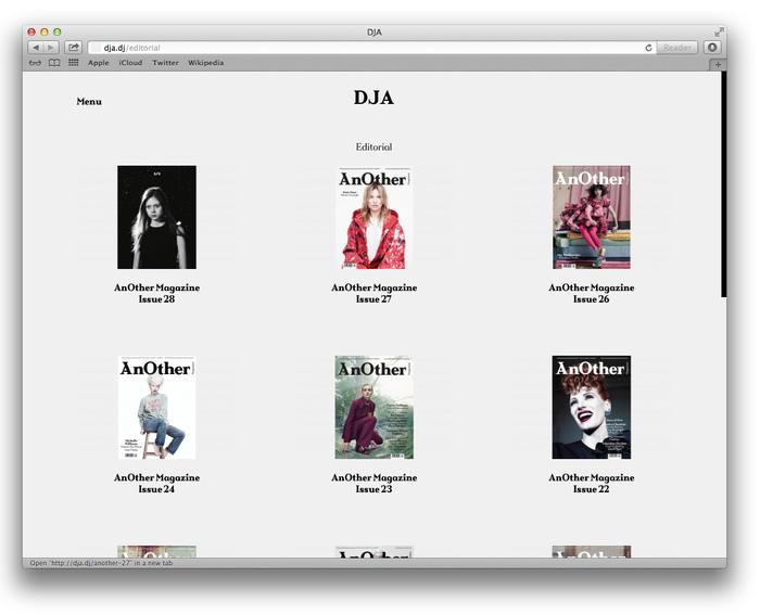 DJA website 3