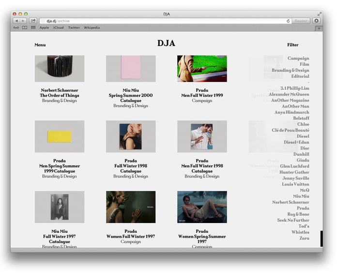 DJA website 4