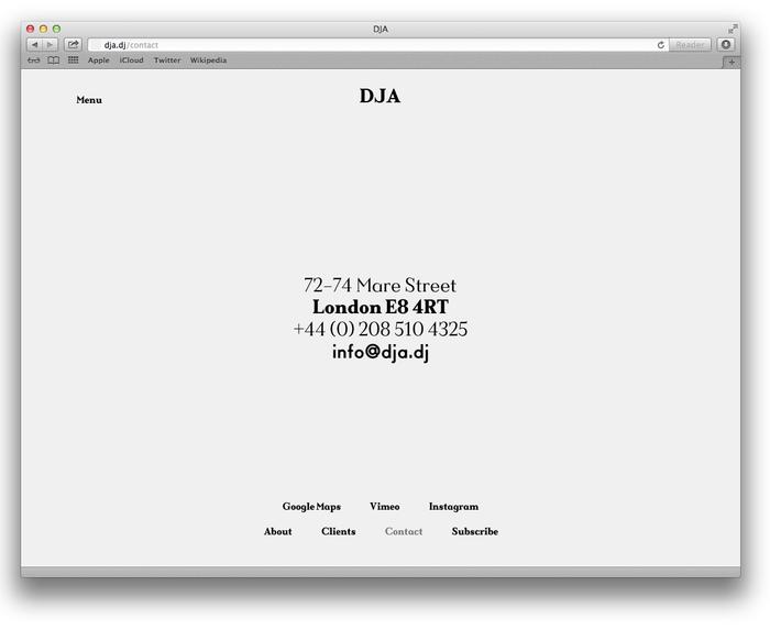 DJA website 6