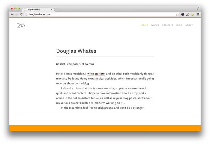 Douglas Whates website 1