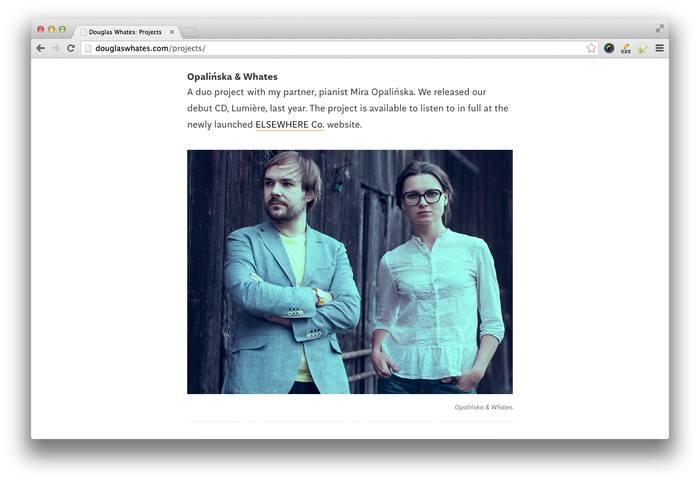 Douglas Whates website 2