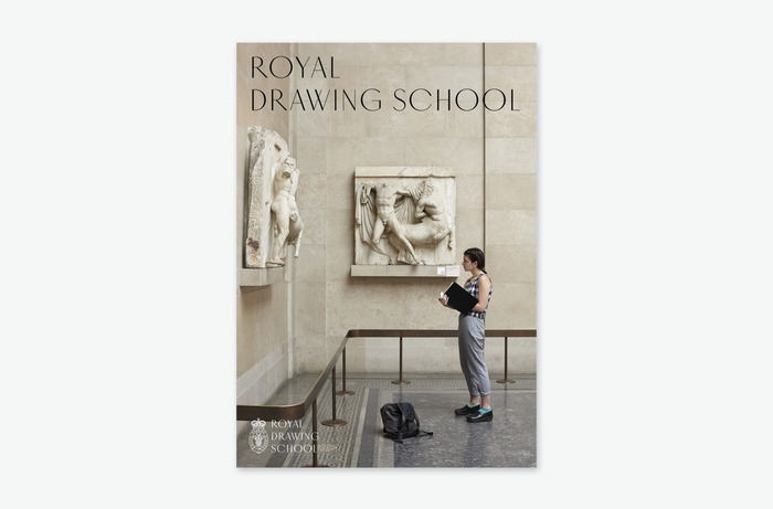 Royal Drawing School identity 2